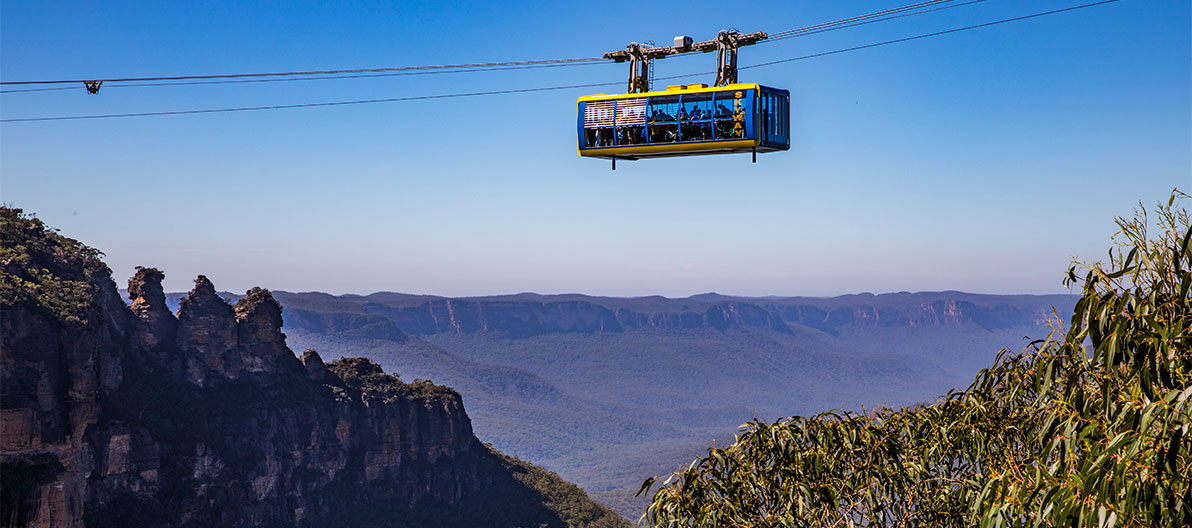 Scenic World Skyway, Blue Mountains