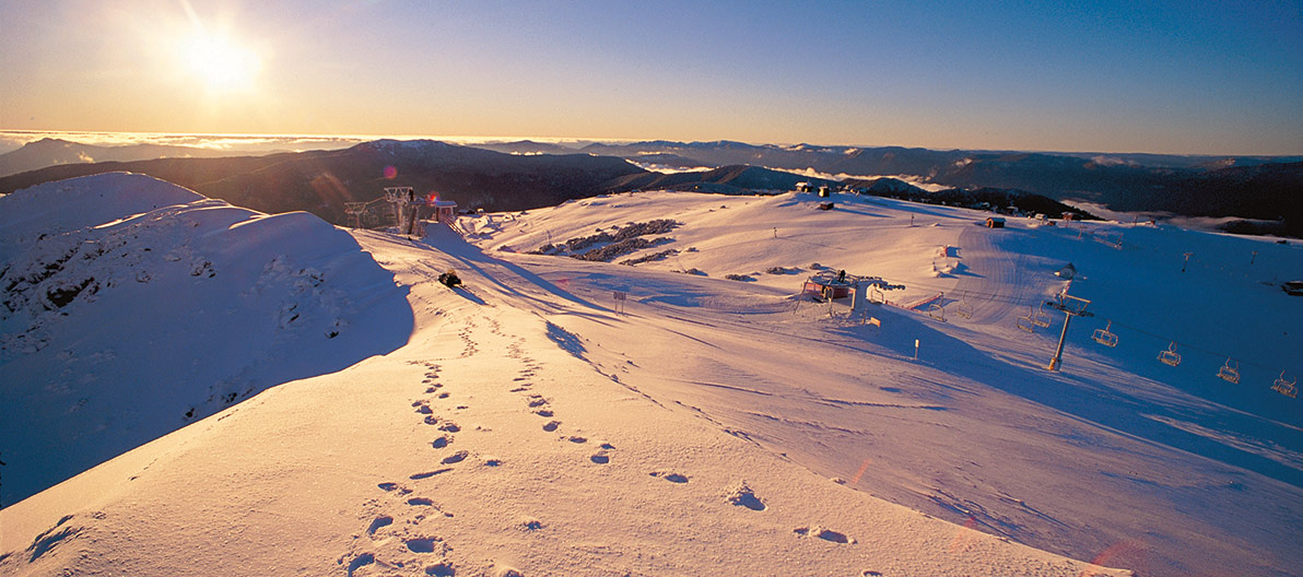 Mt Buller Sunset Views